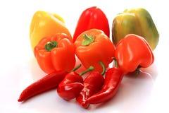 Paprika and chili Stock Photo