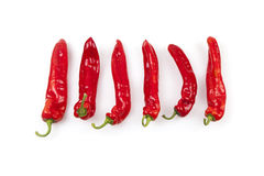 Paprika Chili Peppers rouge Photo stock