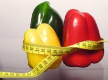 Paprika coloreada Foto de archivo libre de regalías