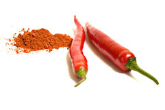 Paprika do pimentão Foto de Stock Royalty Free