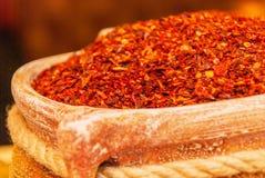 Paprika dulce roja Fotos de archivo