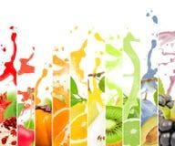 Paprika En agua Imagen de archivo libre de regalías