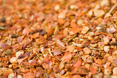 Paprika flakes Stock Image
