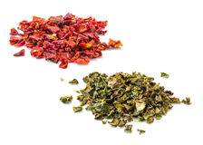 Paprika flakes Royalty Free Stock Photography