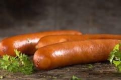 Paprika frankfurter sausage Royalty Free Stock Photos