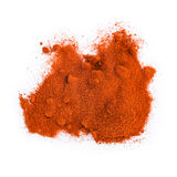 Paprika isolated on a white background Stock Photo