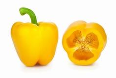 Paprika jaune Photos libres de droits
