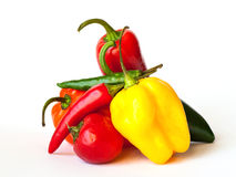 Paprika-Mischung Lizenzfreies Stockbild