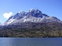 Paprika Nationalparktorres Del Paine Stockfotografie