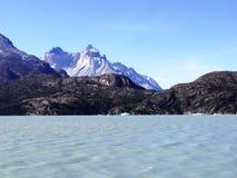 Paprika Nationalparktorres Del Paine Stockbilder