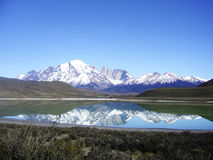 Paprika Nationalparktorres Del Paine Lizenzfreie Stockfotografie