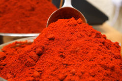 Paprika no mercado Fotos de Stock Royalty Free