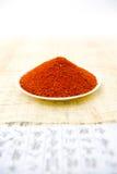 Paprika oder Cayennepfeffer-Pfeffer Lizenzfreie Stockfotografie