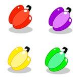 Paprika olorful del ¡de Ð ilustración del vector