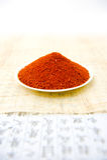 Paprika ou pimenta de pimenta de Caiena Fotografia de Stock Royalty Free