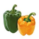Paprika, paprika Royalty-vrije Stock Foto's