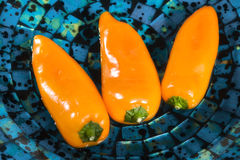 Paprika  peppers Royalty Free Stock Images