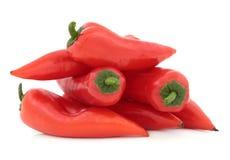 Paprika-Pfeffer Lizenzfreies Stockbild