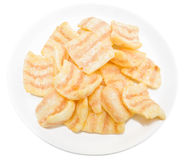 Paprika potato chips. Stock Images