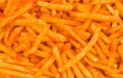 Paprika potato snack Stock Photography
