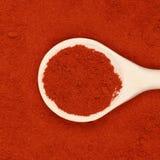 Paprika powder Stock Image