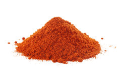 Paprika Powder Fotografie Stock