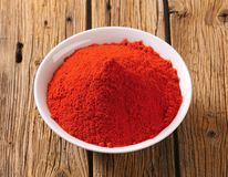 Paprika powder Stock Image