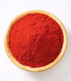 Paprika powder Royalty Free Stock Photos