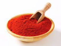 Paprika powder Stock Photography