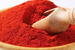 Paprika powder Royalty Free Stock Photography
