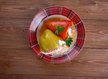 Paprika rellena Imagen de archivo