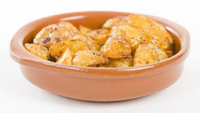 Paprika Roasted Potatoes Royalty Free Stock Photography