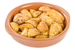Paprika Roasted Potatoes Stock Photos