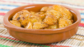Paprika Roasted Potatoes Stock Photo