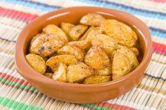 Paprika Roasted Potatoes Royalty Free Stock Images