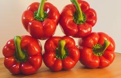 Paprika Rojo Imagen de archivo libre de regalías