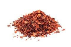 Paprika rouge pulvérisé photo libre de droits