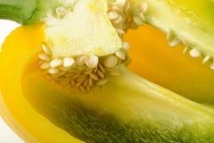 Paprika seeds Royalty Free Stock Photos