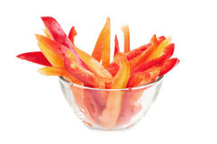 Paprika snack Royalty Free Stock Image