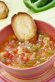 Paprika soup Stock Image