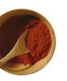 Paprika. Spice on white background stock images