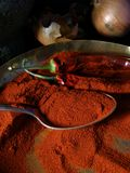 Paprika and spices Stock Photo