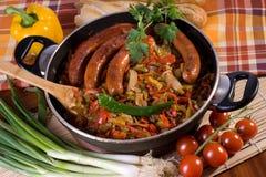 Paprika stew Royalty Free Stock Photo