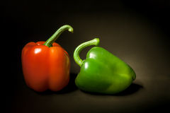 Paprika still life Stock Photos