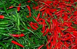 Paprika tailandesa vermelha Foto de Stock