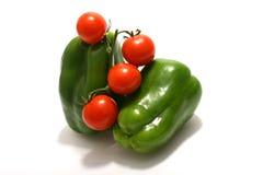 Paprika verde foto de archivo