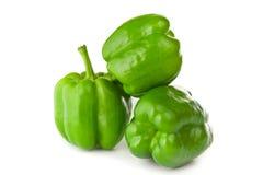 Paprika vert Image libre de droits