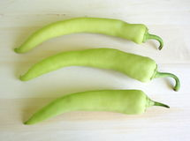 Paprika vert Image stock