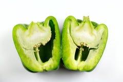 Paprika vert Photo libre de droits