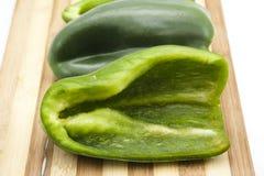 Paprika Vert frais Photo stock